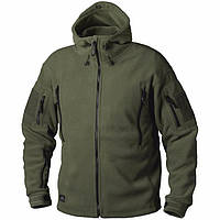 Флисовая кофта с капюшоном Helikon-Tex Patriot Heavy Fleece Jacket-Olive Green S, M, L, XL, XXL, 3XL/regular (