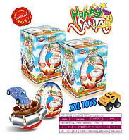 Шоколадное яйцо Happy Santa 115 гр. 9 шт Anl