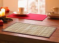 Подложка-салфетка, сет на стол бамбук 30см*45см