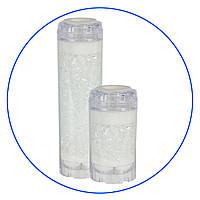 Картридж для умягчения воды в прозрачном корпусе FCPRA-10