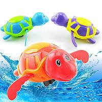 Детские игрушки для купания заводные мультфильм большой плавательный цепи черепаха