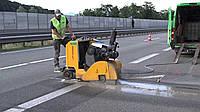 Резка ж/бетона мощными дизельными нарезчиками