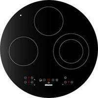 Электрическая варочная поверхность черного цвета LONGRAN FH5010 WH круглой формы