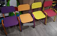 Детский стульчик металлический Омми