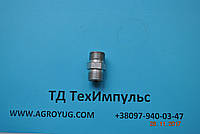 Штуцер соединительный S22*S22, фото 1