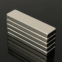5шт N35 сильных блок кубом магниты неодим редкоземельных 40x10x4 мм