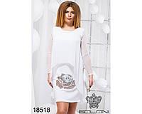 Элегантное платье - 18518(б-ни)