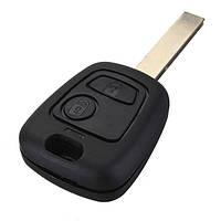 2 кнопки дистанционного ключа брелок для Пежо 307 с чип-транспондер id46 в