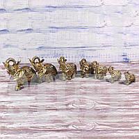 Статуэтки слоны, 7 шт