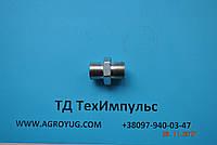 Штуцер соединительный S24*S24 грань S24, фото 1