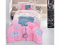 Комплект постельного белья Полуторный Ранфорс 160х220 CLASY MODALIFE