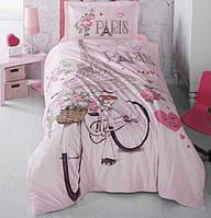 Комплект постельного белья Полуторный Ранфорс 160х220 CLASY PARIS LOVE