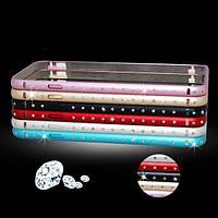Роскошный алмаз гиппокамп пряжки металла рамка Бампер для Iphone 6