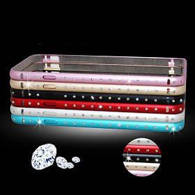 Роскошный алмаз гиппокамп пряжки металла рамка Бампер для Iphone 6 1TopShop