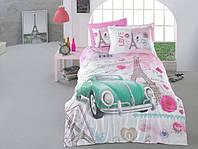 Комплект постельного белья Полуторный Ранфорс 160х220 CLASY ROMANTIC