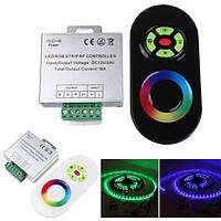 18а dimmable касания удаленный беспроводной РФ контроллер для светодиодных RGB газа