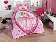 Комплект постельного белья Полуторный Ранфорс 160х220 CLASY Принцесса