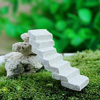 Микро-ландшафтных украшений мини смолы лестничные сад landcaping