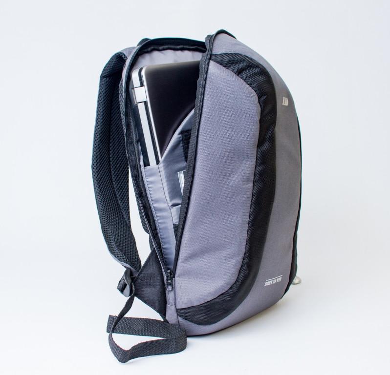 Спортивный городской рюкзак TWILTEX серый (с отделением для ноутбука ... aca80ace050