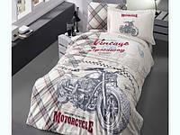 Комплект постельного белья Полуторный Ранфорс 160х220 CLASY SPEEDWAY