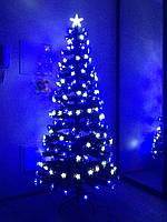 """Светящаяся, светодиодная елка """"Звездное небо"""" 180 см, zn180"""