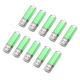 10 x 128 Мб USB 2.0 флэш-накопитель U диск памяти хранения конфеты зеленый палец-1TopShop