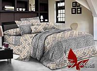 Полуторное постельное белье ранфорс TAG R-1733