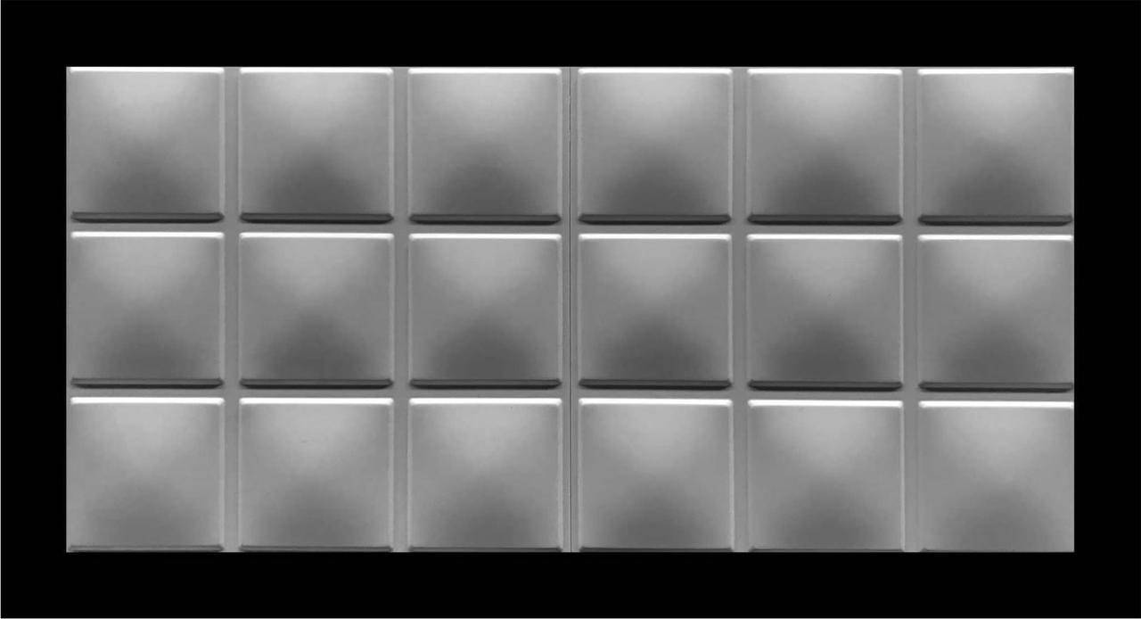 Кубики 3D панели гипсовые