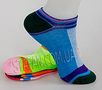 Короткий женский носок сетка LW-03-002. В упаковке 18 пар