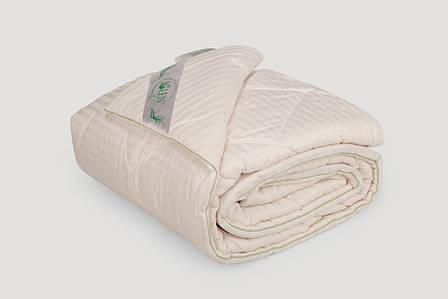 Одеяла с наполнителем из хлопка в жаккардовом сатине 172x205, Летнее