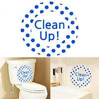 Творческий DIY стикер водонепроницаемый Туалет Ванная комната стены стикеры