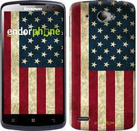 """Чехол на Lenovo S920 Флаг США """"395c-53-7794"""""""