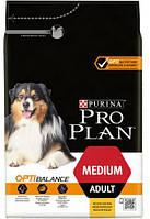Pro Plan Adult Medium Optibalance Chicken & Rice корм для собак с курицей и рисом
