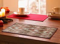 Оригинальная салфетка, сет для сервировки стола и украшения интерьера бамбук 30см*45см