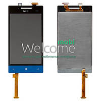Дисплей HTC A620e Windows Phone 8S blue with touchscreen orig