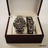 Часы Rolex Submariner с браслетом (в наборе)