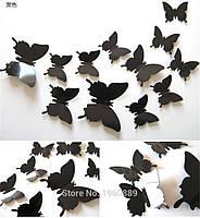 3d  бабочки для декора   (08525)