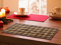 Подложка-салфетка, сет для сервировки стола и украшения интерьера бамбук 30см*45см