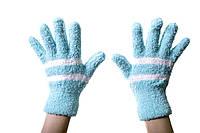 Теплые детские рукавички 8-12 лет.