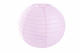 Бумажный подвесной шар лавандовый, 35 см