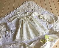 """Крестильное платьице """"Лела"""", фото 1"""