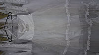 """Детское платье """"Элегант-2"""" белое с блеском (64-2) на 6-9 лет"""