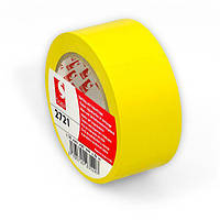Разметочная лента Scapa 2721 для маркировки, цветного кодирования 50мм х 33м х0,16м желтый цвет