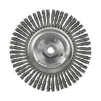 Щетка дисковая S&R, нержавеющая плетенная проволока 175
