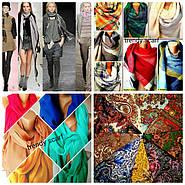 Модные тенденции шарфов, платков, палантинов осени-зимы 2017-18.