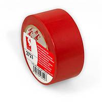 Разметочный скотч Scapa 2721 для маркировки, цветного кодирования 50мм х 33м х0,16м красный цвет