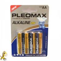 Батарейка pleomax alkaline LR06 упаковка 4 шт