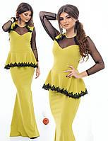 """Стильное молодежное платье в пол """" Баска """" Dress Code, фото 1"""