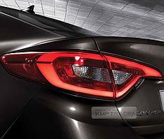 Задние LED фонари Mobis для Hyundai Sonata 2015+ (LF)