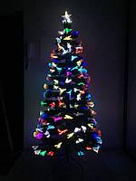 """Светящаяся, оптоволоконная елка """"Радуга"""" 240 см, rad240, фото 1"""